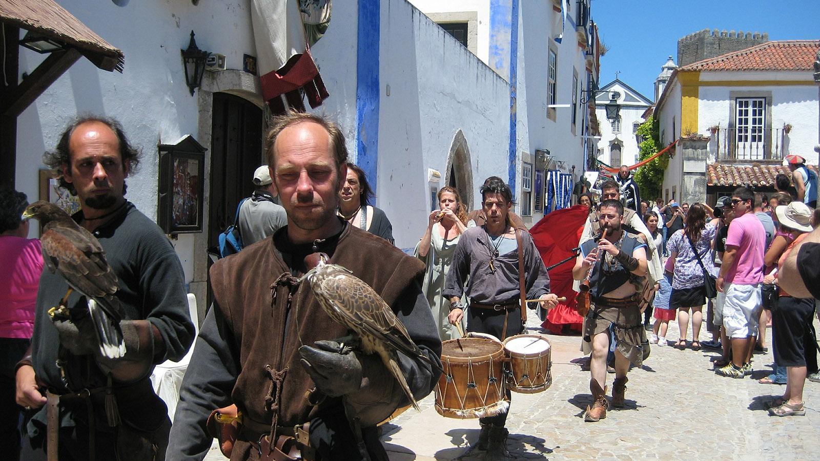 Portogallo fiera popolare Obidos