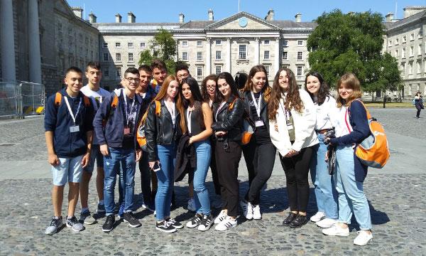 gruppo Orange Viaggi al Trinity College di Dublino