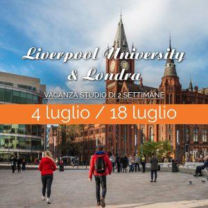 Liverpool e Londra – Vacanza Studio di 2 settimane