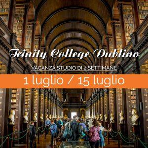 Trinity College Dublino - Vacanza Studio di 2 settimane