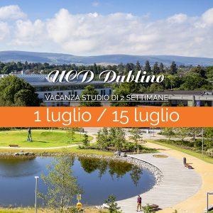 University College Dublino – Vacanza Studio di 2 settimane