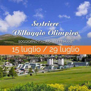 2 settimane presso Villaggio Olimpico a Sestriere