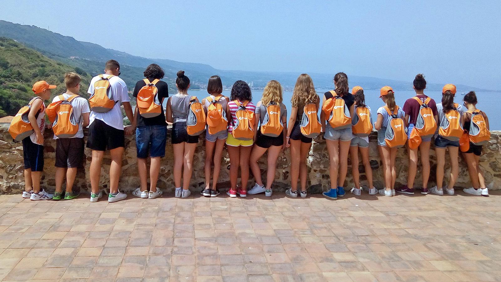 Estate INPSieme Italia Gruppo Orange a Tropea