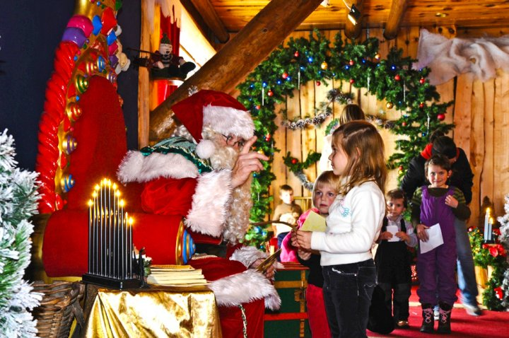 Babbo Natale Montreux Noel