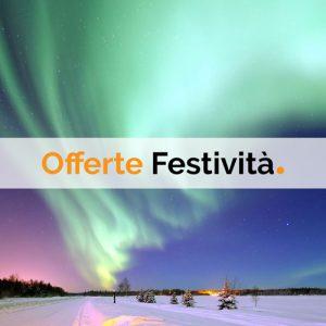 Offerte di viaggio per le festività natalizie e il Capodanno