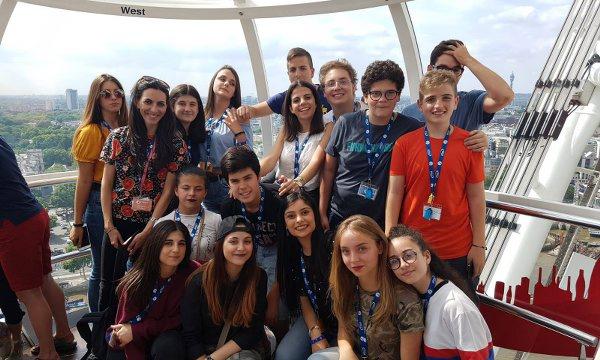 Estate INPSieme a Londra gruppo Orange Viaggi sulla London Eye
