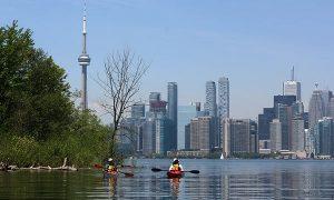 Toronto in canoa