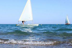 Estate INPSieme corso di vela al Villaggio Castroboleto