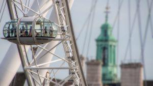 La cabine panoramiche del London Eye