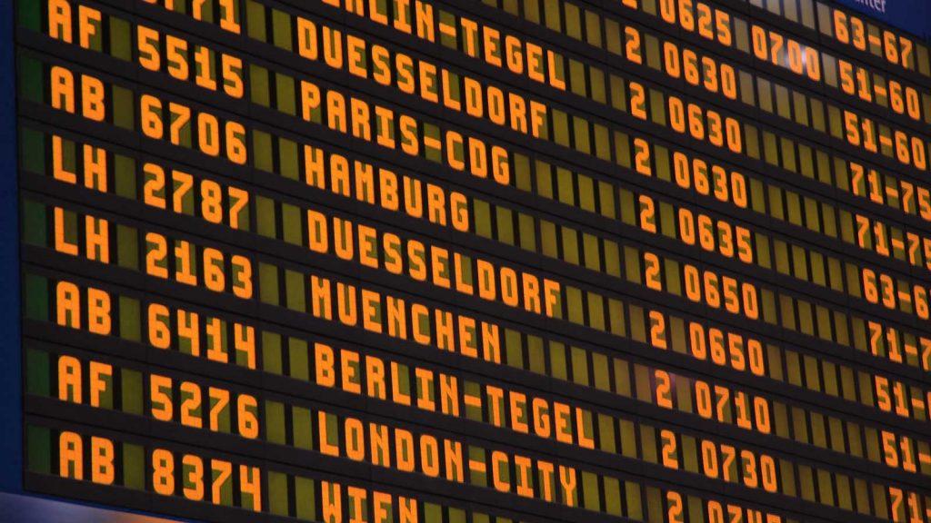 estate inpsieme 2018 tabellone partenze aeroporto