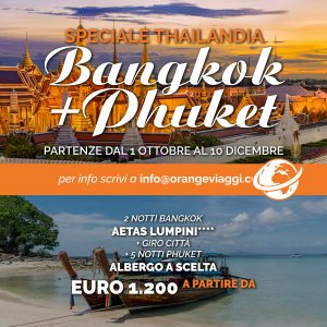 offerte viaggio in Thailandia Bangkok e Phuket