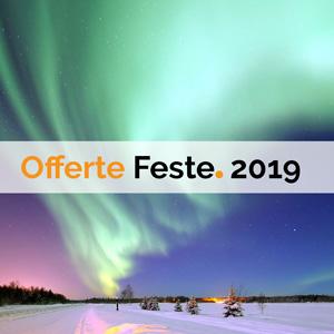 offerte di viaggio Festività 2018 e Capodanno 2019