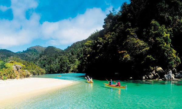 Programma ITACA in Nuova Zelanda Nelson Abel Tasman National Park