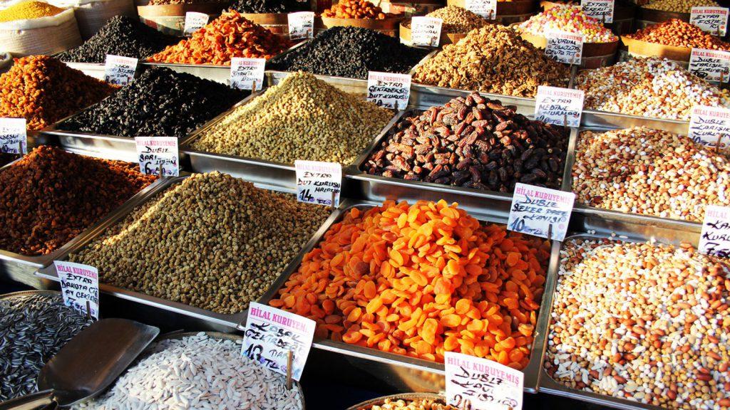 Capodanno in Turchia mercato delle spezie