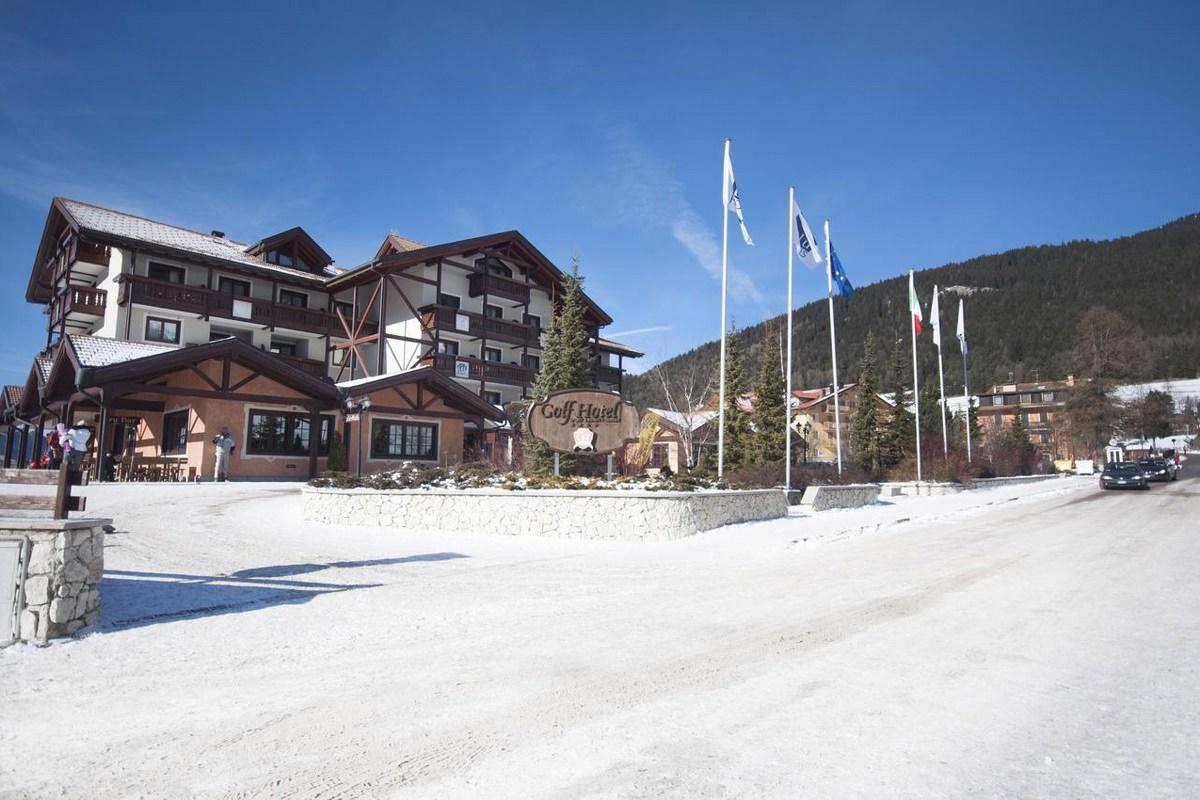 vacanza sulla neve al golf hotel Costa di Folgaria