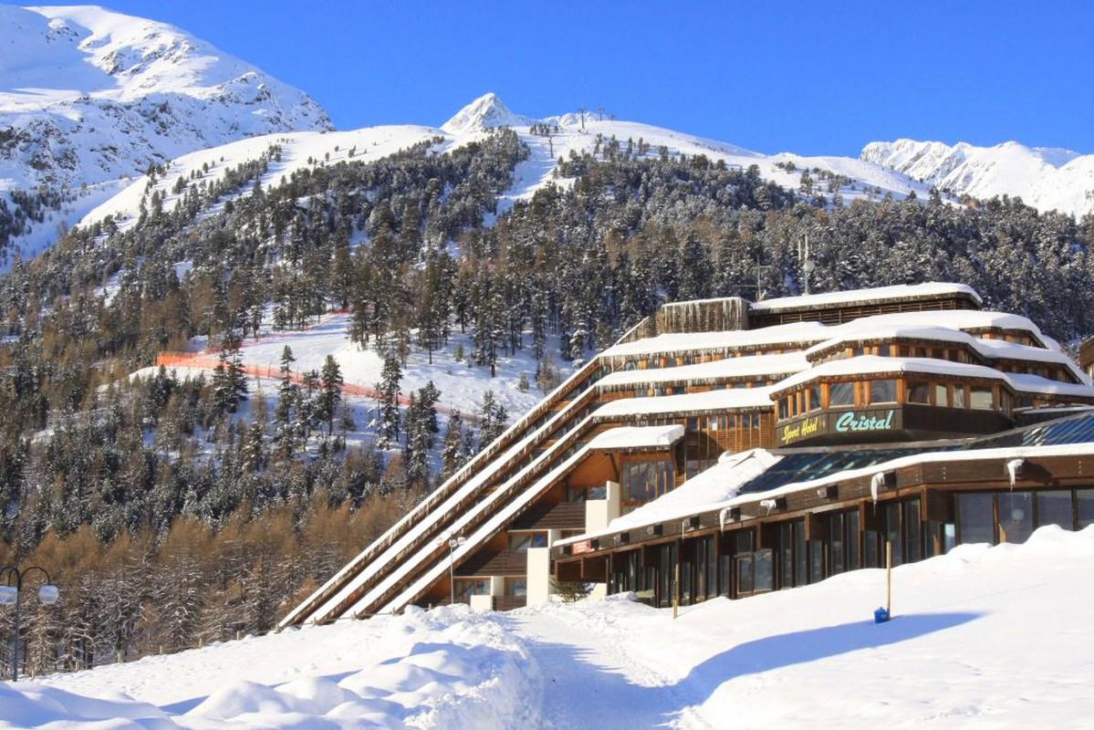 vacanza sulla neve al hotel cristal maso corto