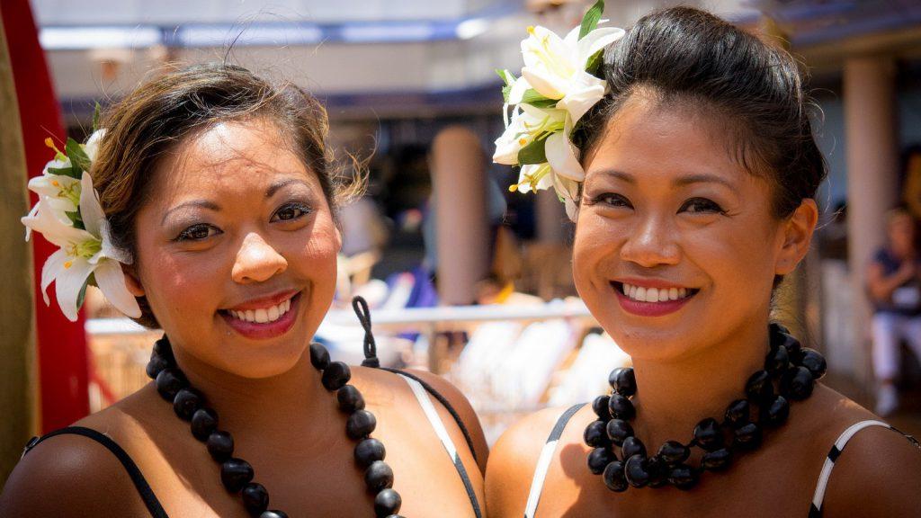 viaggio in polinesia ragazze polinesiane