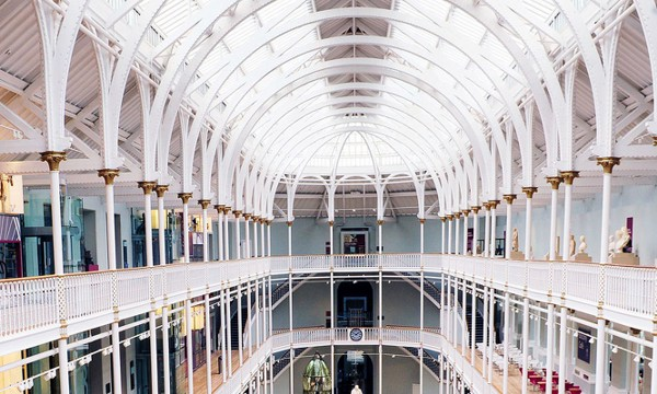 National Museum of Scotland Grand Gallery