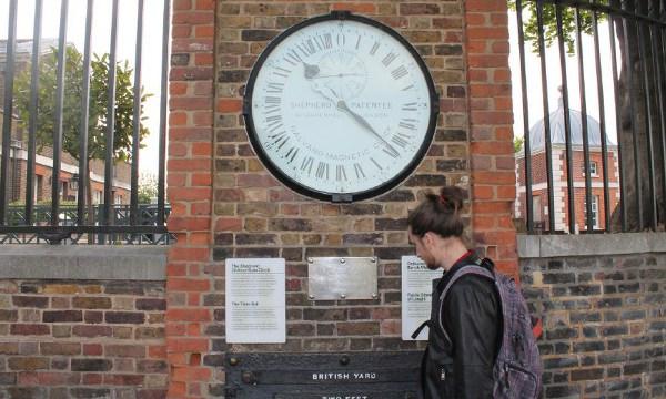 Shepherd Gate Clock Greenwich Observatory