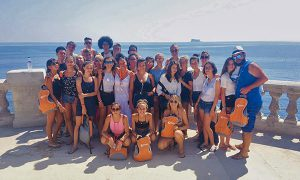 malta panorama foto di gruppo orange viaggi