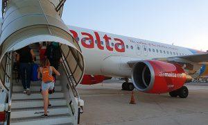 malta scaletta aereo orange viaggi