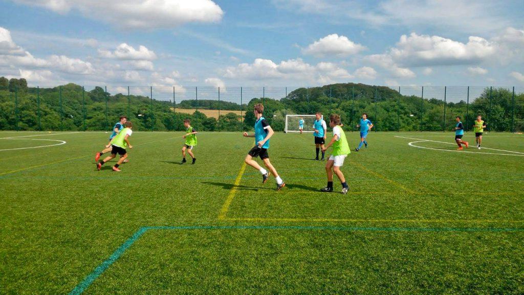 allenamenti Orange Football Camp Estate INPSieme