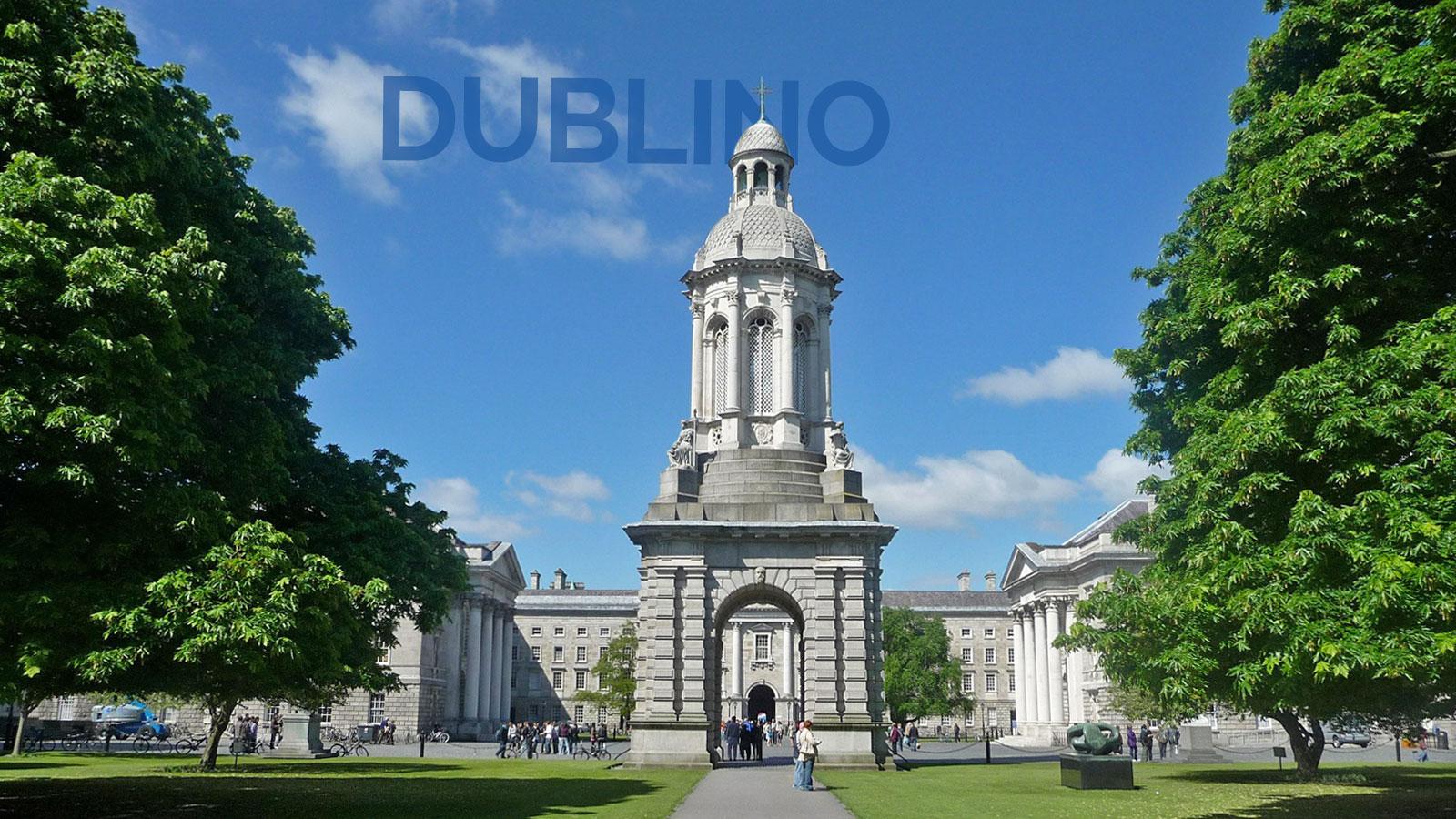 Estate INPSieme vacanza studio a Dublino