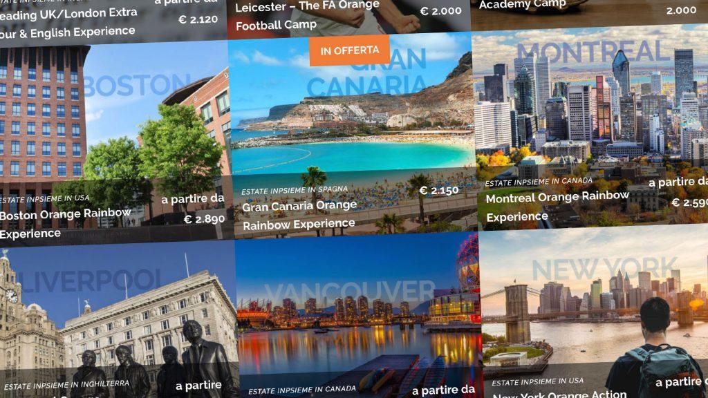 Destinazioni Estate INPSieme 2019 con Orange Viaggi