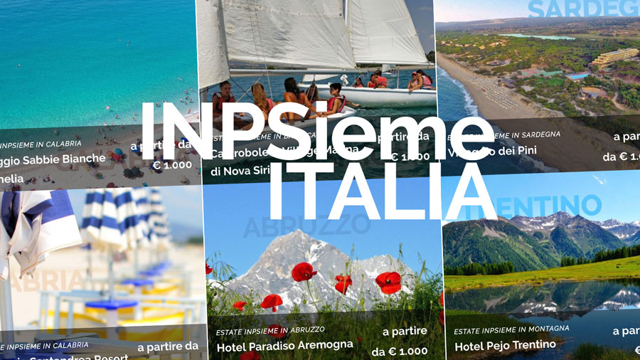 Estate Inpsieme 2019 Soggiorni Estivi Italia - Querciacb
