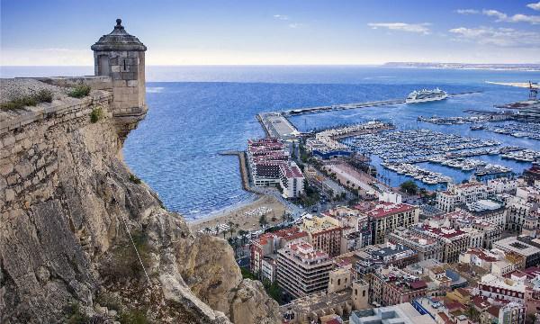 Alicante castello di santa barbara