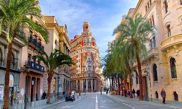 Valencia centro città