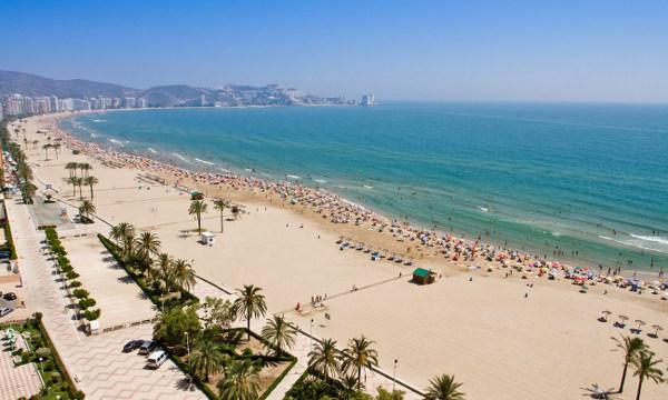 Valencia spiaggia Malvarrosa