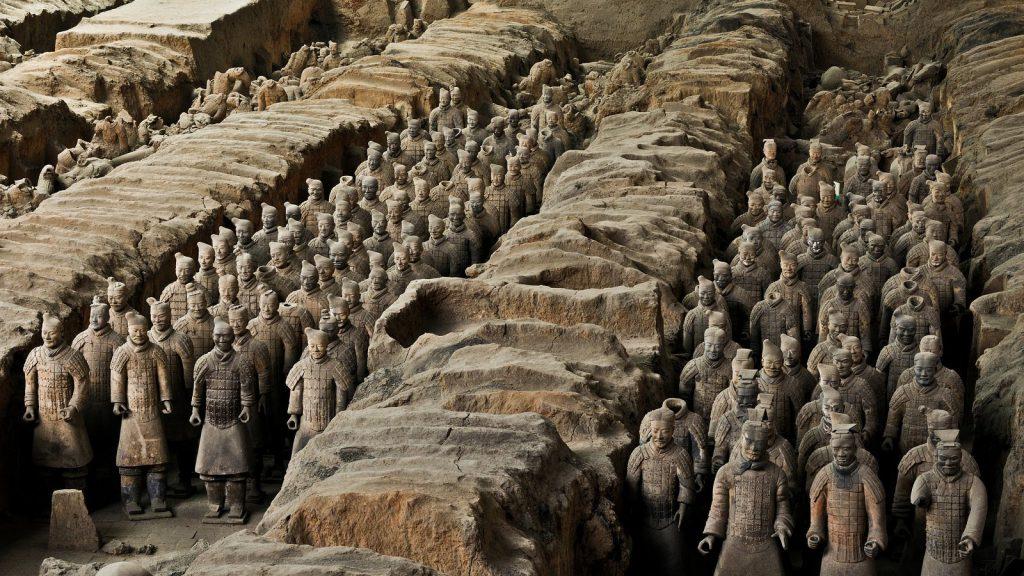 Esercito di terracotta Viaggio di nozze in Cina