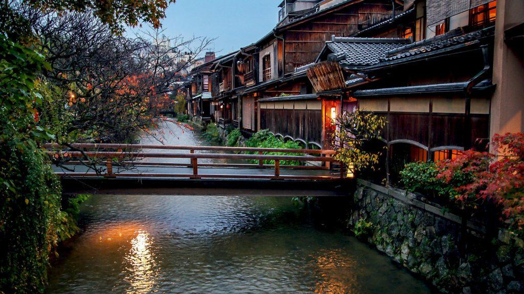 Viaggio di nozze in Giappone Scorcio di Kyoto