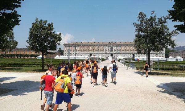 Estate INPSieme Italia visita alla Reggia di Caserta