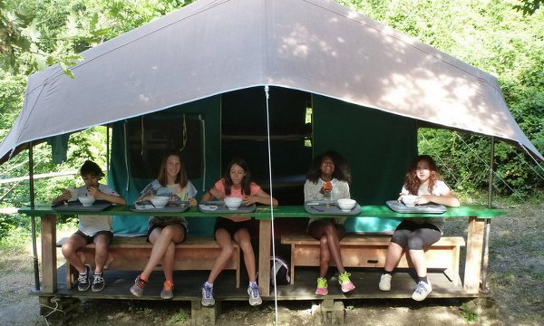 Summer camp in tenda Il Mastio